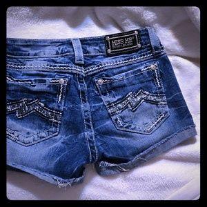 Super cute miss me shorts
